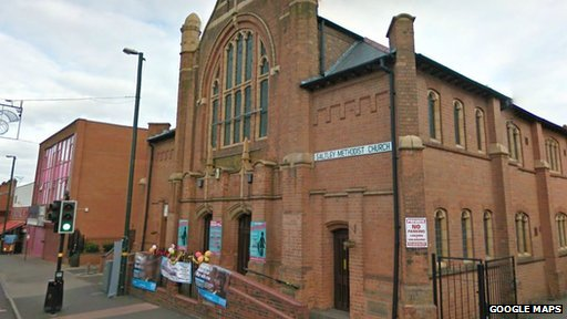Saltley Methodist Church.