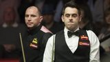 Ronnie O'Sullivan against Joe Perry
