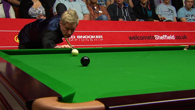 World Championships 2014: Neil Robertson's 140 break