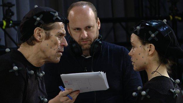 Willem Dafoe, David Cage, Ellen Page