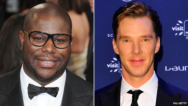 Steve McQueen and Benedict Cumberbatch