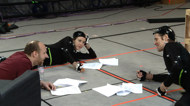 David Cage, Ellen Page, Willem Dafoe