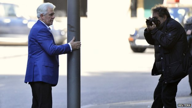 Max Clifford poses for a photo