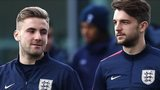 Southampton and England players Luke Shaw (left) and Adam Lallana