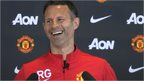 Ryan Giggs full of laughs in new Manchester United job