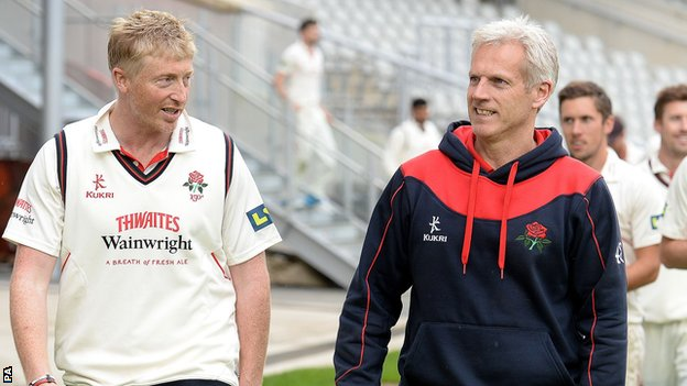 Glen Chapple and Peter Moores