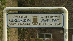 Awel Deg sign