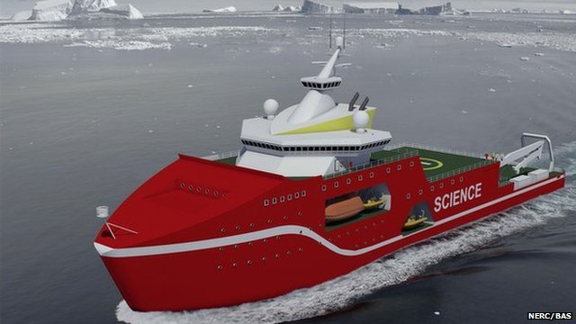 New polar ship