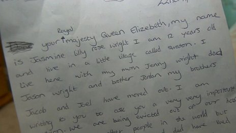 Letter to the Queen