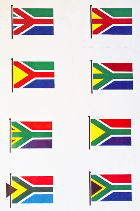 Brownell's flag sketches