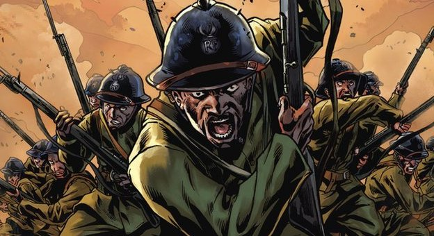 Harlem Hellfighters graphic novel