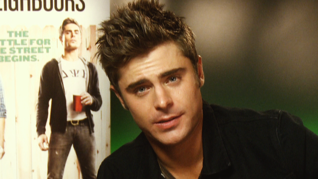 Zac Efron gives his Focus predictions