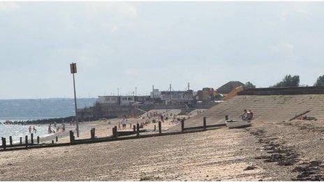 Beach in Leysdown
