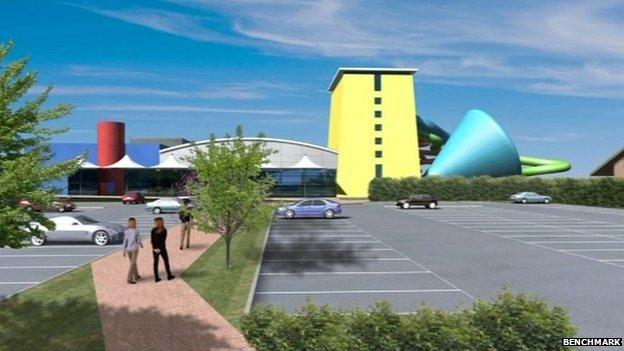 Scarborough north bay water park plan gets final go ahead bbc news for Indoor swimming pool scarborough
