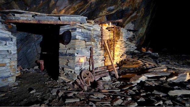 Deep Mine cabin