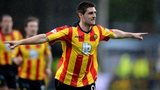 Kris Doolan headed Thistle in front