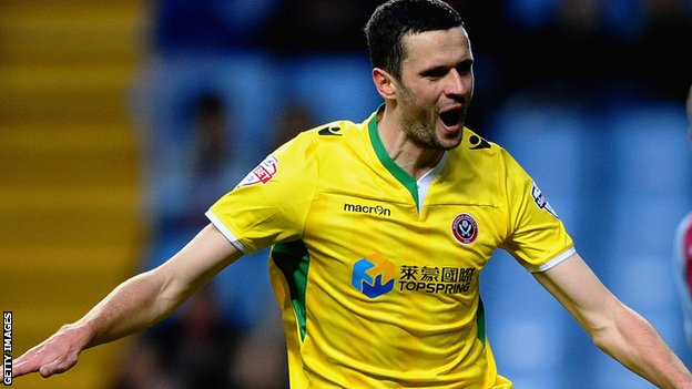 Sheffield United's Jamie Murphy