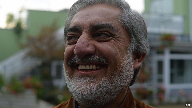 Abdullah Abdullah. 24 April 2014