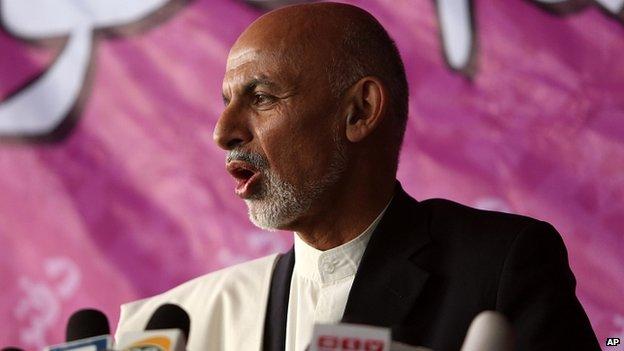 Ashraf Ghani. 21 April 2014