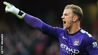 Manchester City and England international Joe Hart