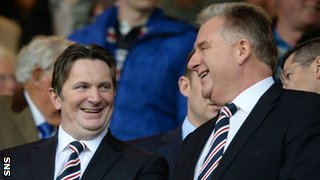 Sandy Easdale and Graham Wallace