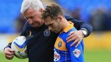 Jon Taylor consoled after relegation