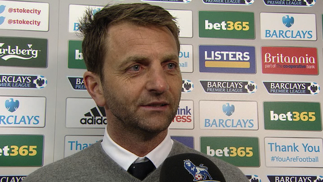 Tottenham manager Tim Sherwood says Spurs 'stuck to their gun'