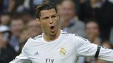 Cristiano Ronaldo celebrates scoring for Real Madrid against Osasuna
