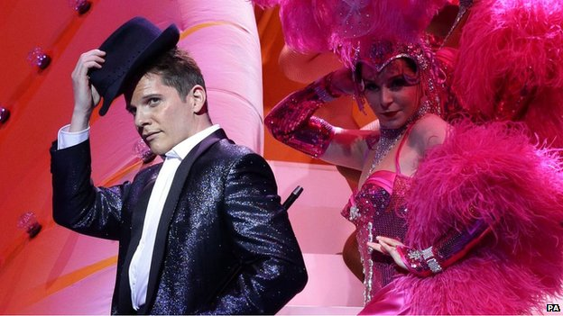 Nigel Harman in I Can't Sing!