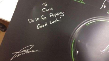 Mark Cavendish autograph