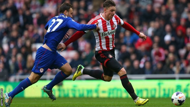 Juan Cala pulls back Connor Wickham