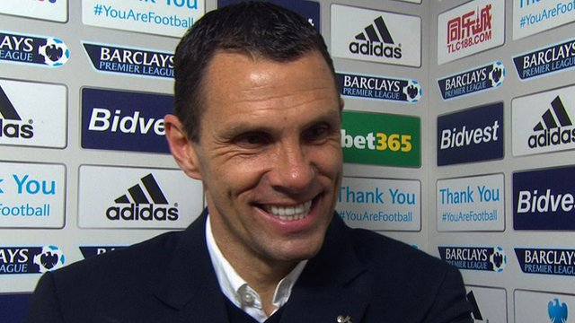 Gus Poyet says Sunderland's 4-0 win against Cardiff 'feels fantastic'