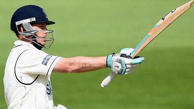 Warwickshire and England batsman Ian Bell