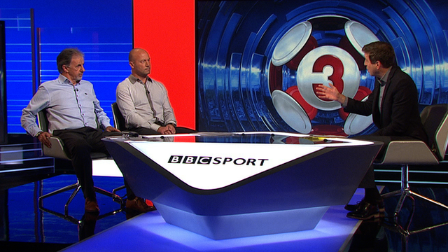 Mark Chapman is joined by Mark Lawrenson and Alan Shearer for this week's Match of the Day 3.