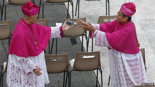 Two Cardinals at canonisation mass for John Paul II and John XXIII