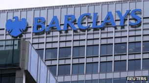 Barclays office and logo
