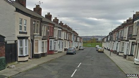Pansy Street in Liverpool