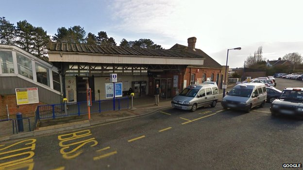 Brockenhurst railway station