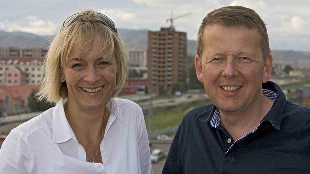 Louise Minchin and Bill Turnbull