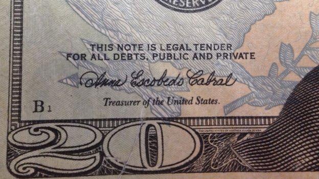 20-dollar bill