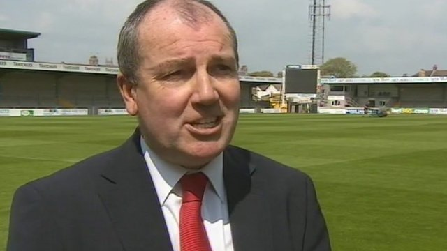 Torquay United vice-chairman Alex Rowe