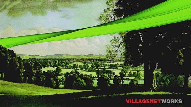 Village Networks poster