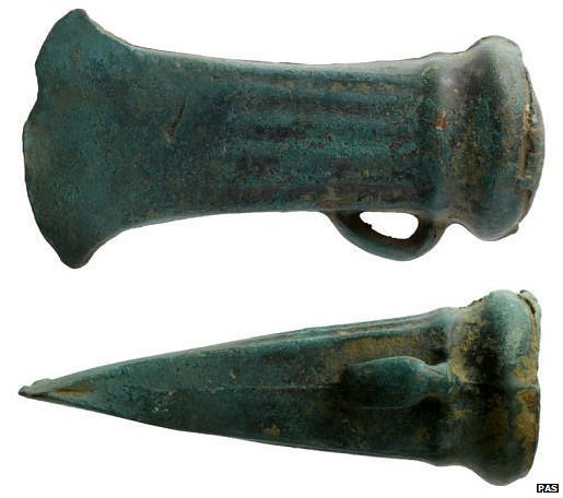 Bronze Age socketed axe head