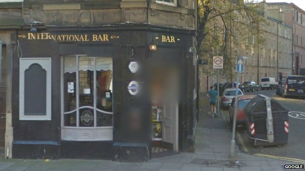 International Bar in Brougham Place