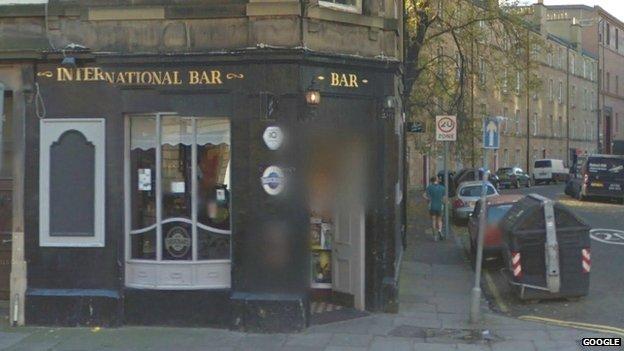 International Bar in Brougham Place