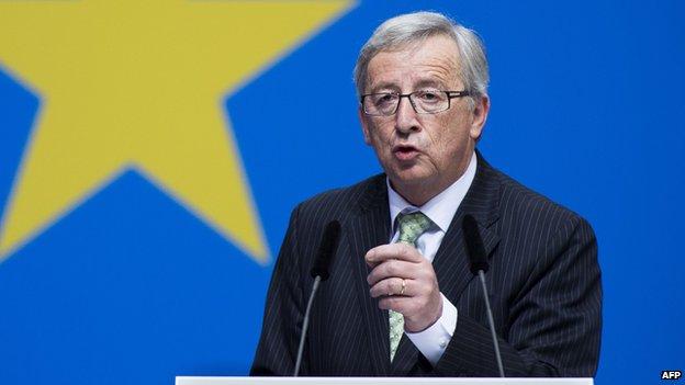 EPP's Jean-Claude Juncker - file pic