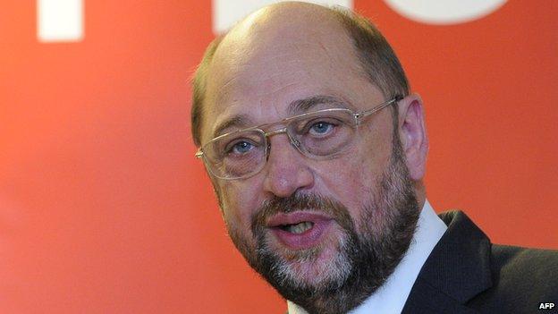 Martin Schulz - S&D, file pic