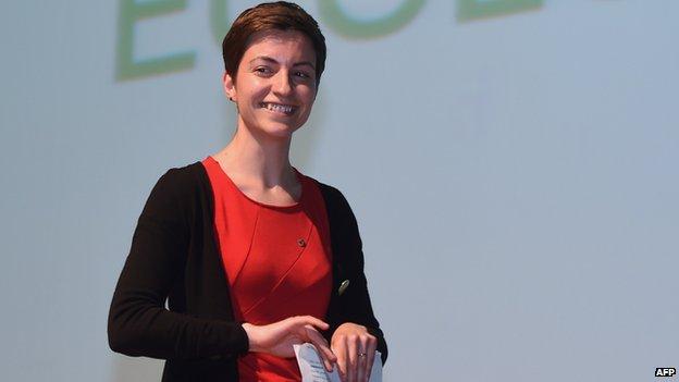 Greens - Ska Keller, file pic