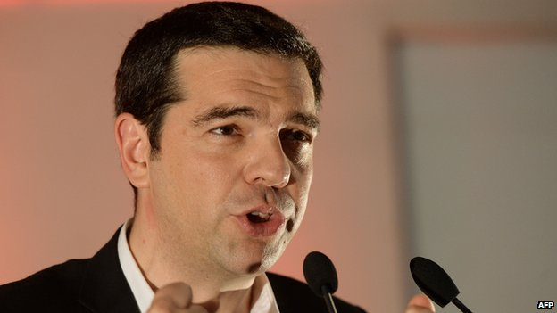 Alexis Tsipras - Syriza, file pic