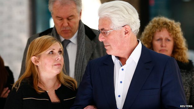 Max Clifford with his daughter Louise